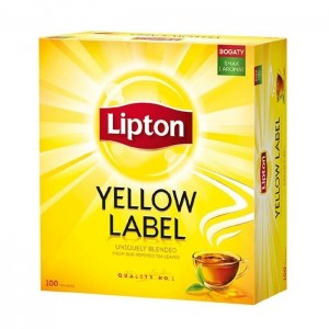 Herbata  Lipton Yellow Label 100 torebek 200g