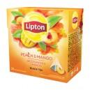 Herbata Lipton Piramidki Brzoskwinia i Mango 20TBx1,6g