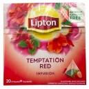 Herbata Lipton Piramidki Malina&Truskawka 20TBx2,5g