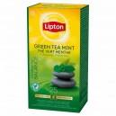 Herbata LIPTON GREEN TEA MINT 25 kopert