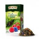Herbata Big-Active zielona z maliną- liść. 100g